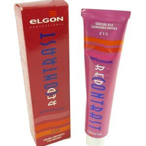 Elgon Red Contrast Modastyling red - cosmetic col